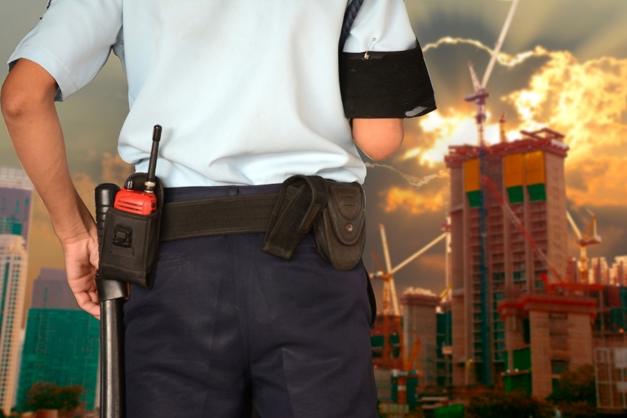 construction security guard