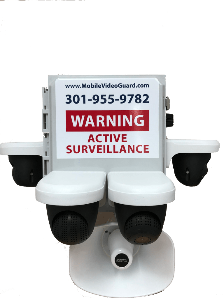 Mobile Video Guard Security Camera Trailers 2