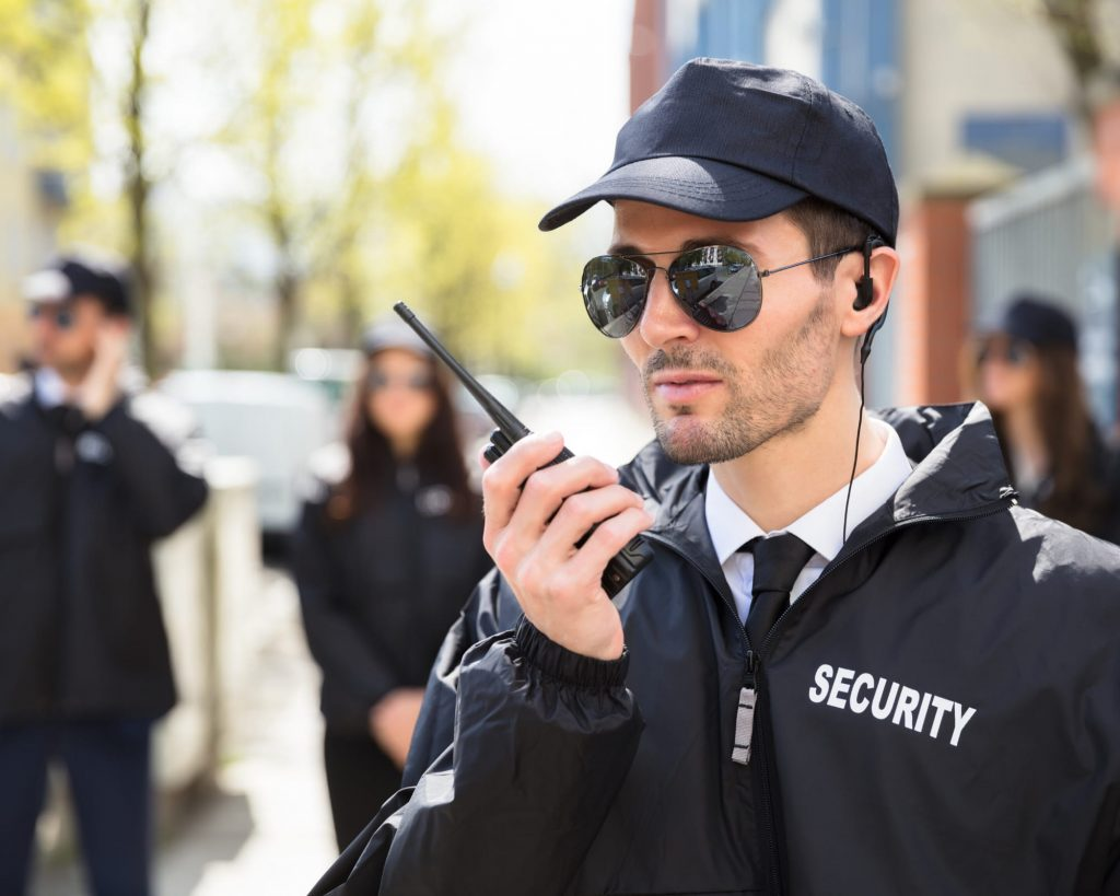 armed personal security